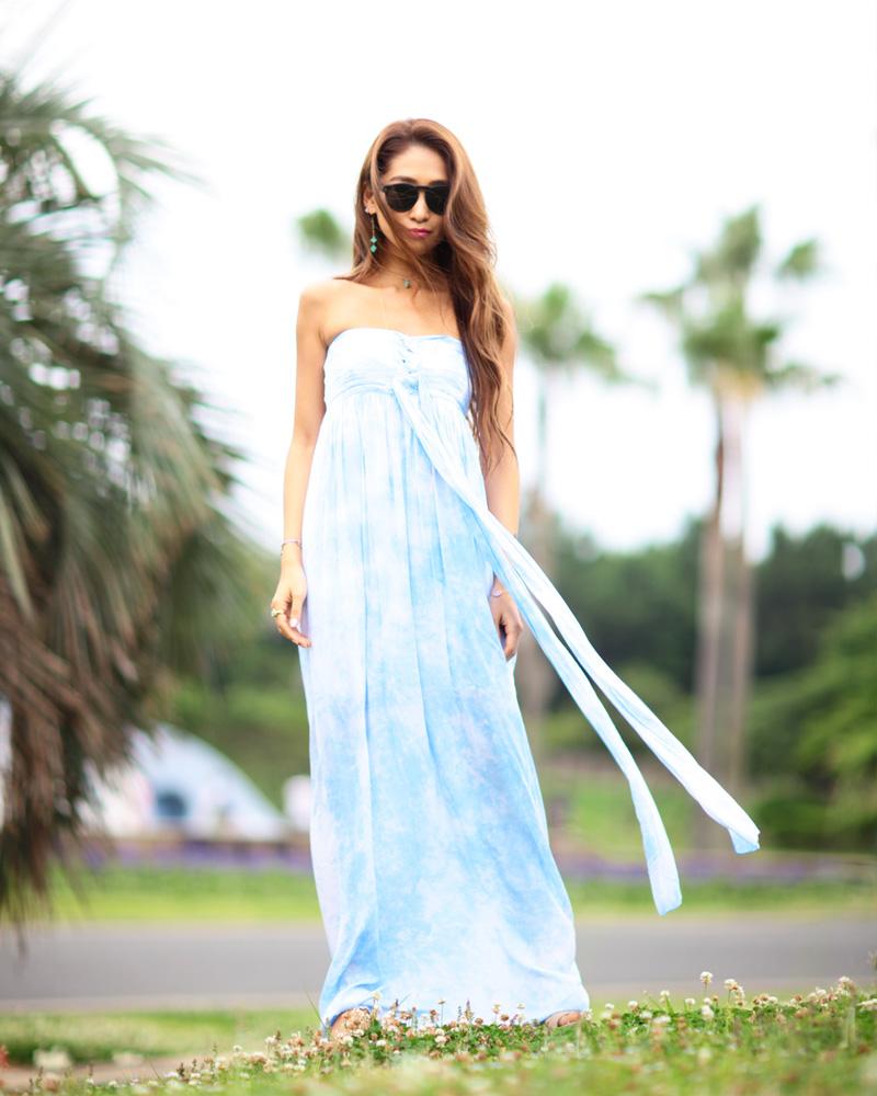 ビーチウェディング、ガーデンウェディング、リゾートウェディングでおすすめなブライズメイドドレス