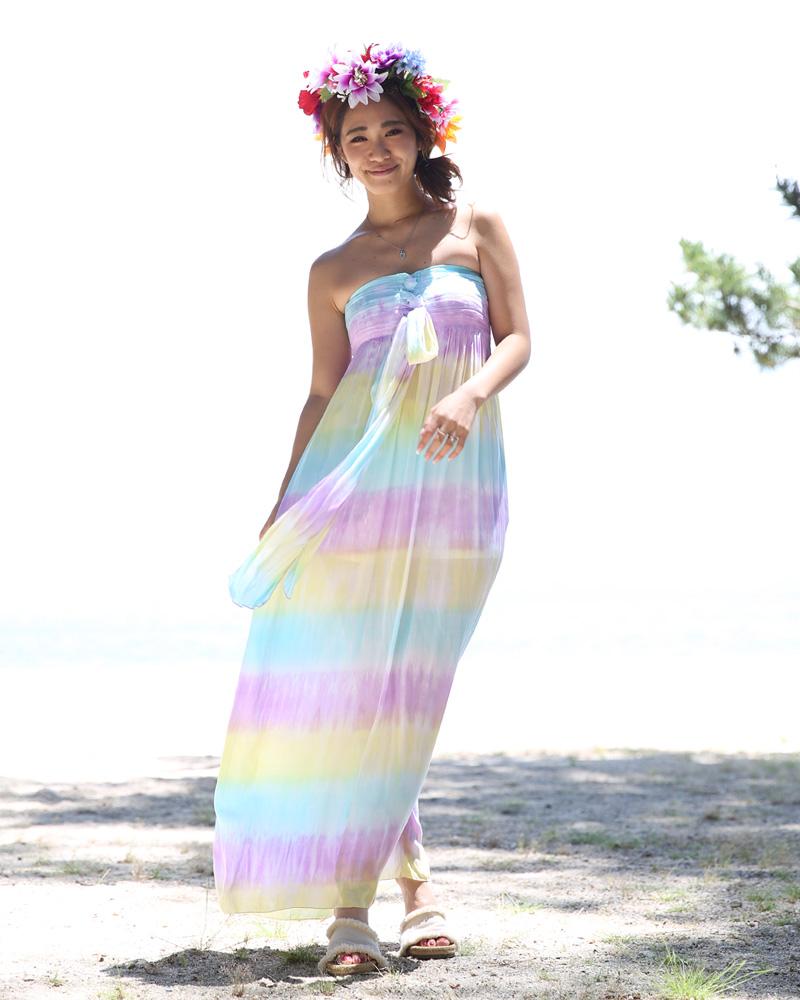 ハワイ挙式やグアムウェディング沖縄挙式などのシーンで大活躍するブライズメイドドレス