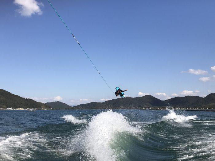 琵琶湖ウェイクボード_長龍マリーナ
