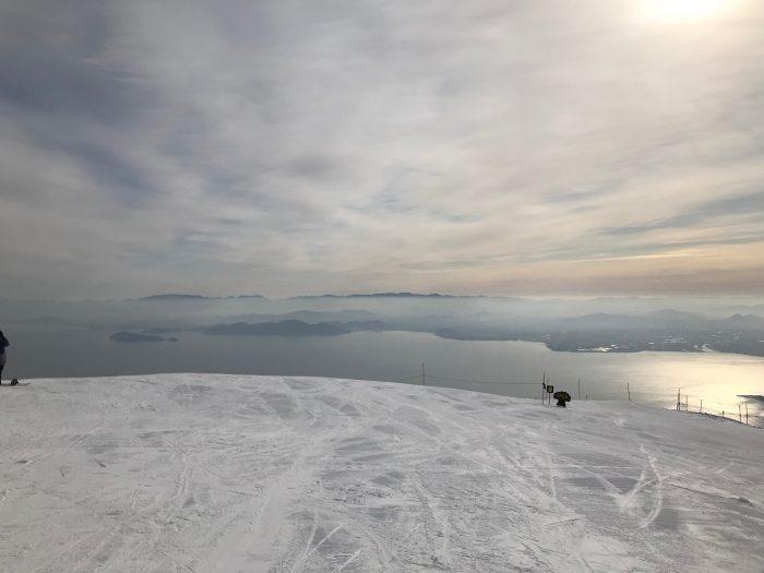 琵琶湖バレイ_琵琶湖テラス_スノーボード_滋賀県_琵琶湖