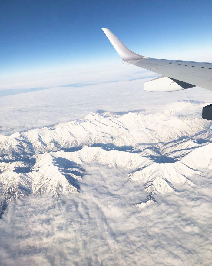 上空からの日本アルプス_JAL