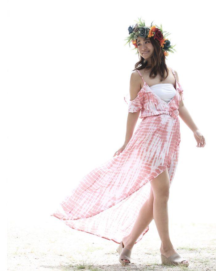 ハワイ旅行で着用したいマキシワンピース