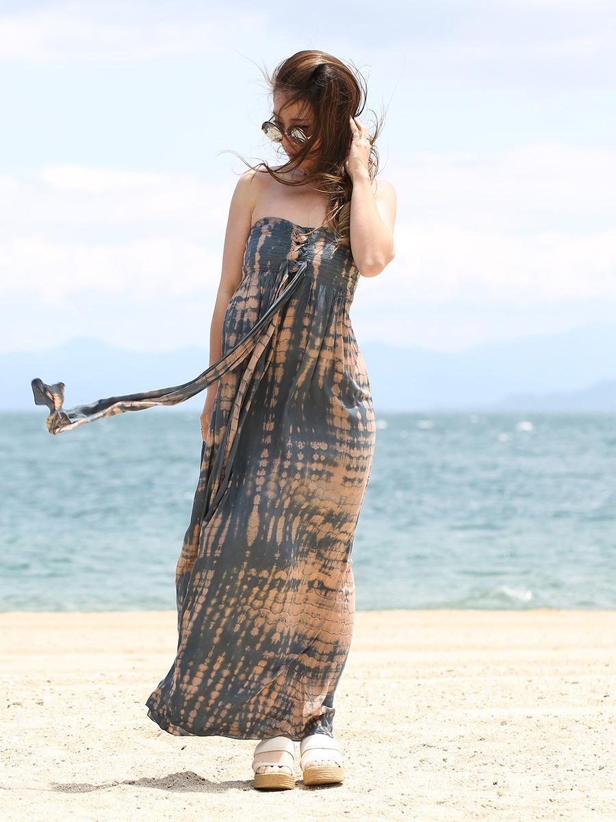 Tiare Hawaii(ティアレハワイ)ジャスミンロングマキシワンピース