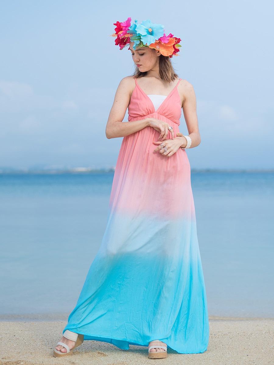 Tiare Hawaii(ティアレハワイ)グレイシーマキシワンピース