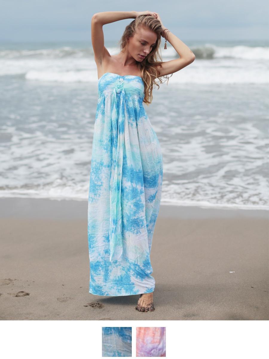 ハワイで着用して頂きたいフォトジェニックマキシワンピ