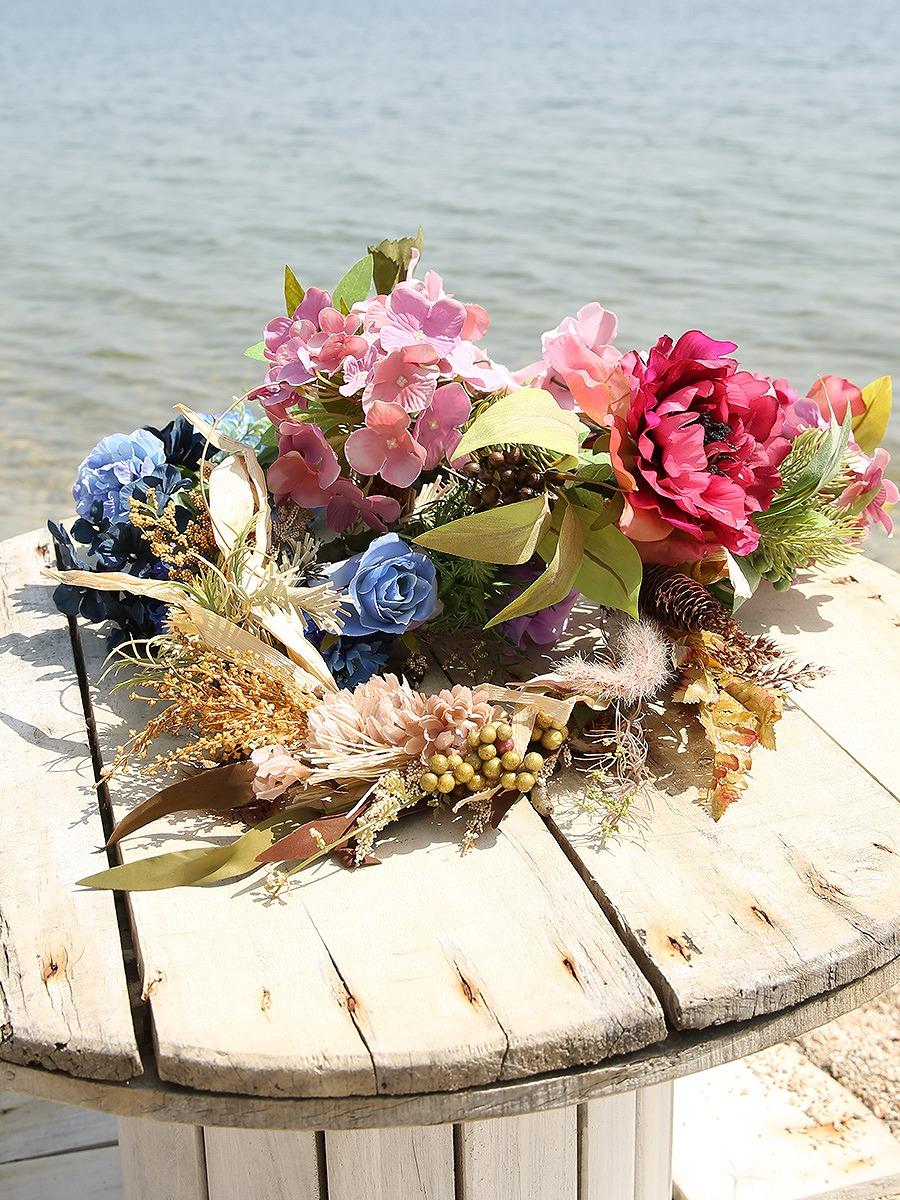 前撮り写真やウェディングにピッタリな花冠