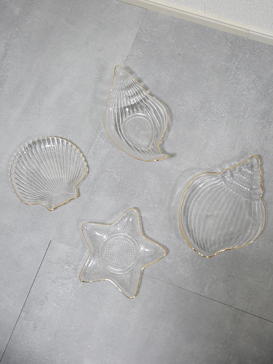 ビーチシリーズガラスプレート&ボール