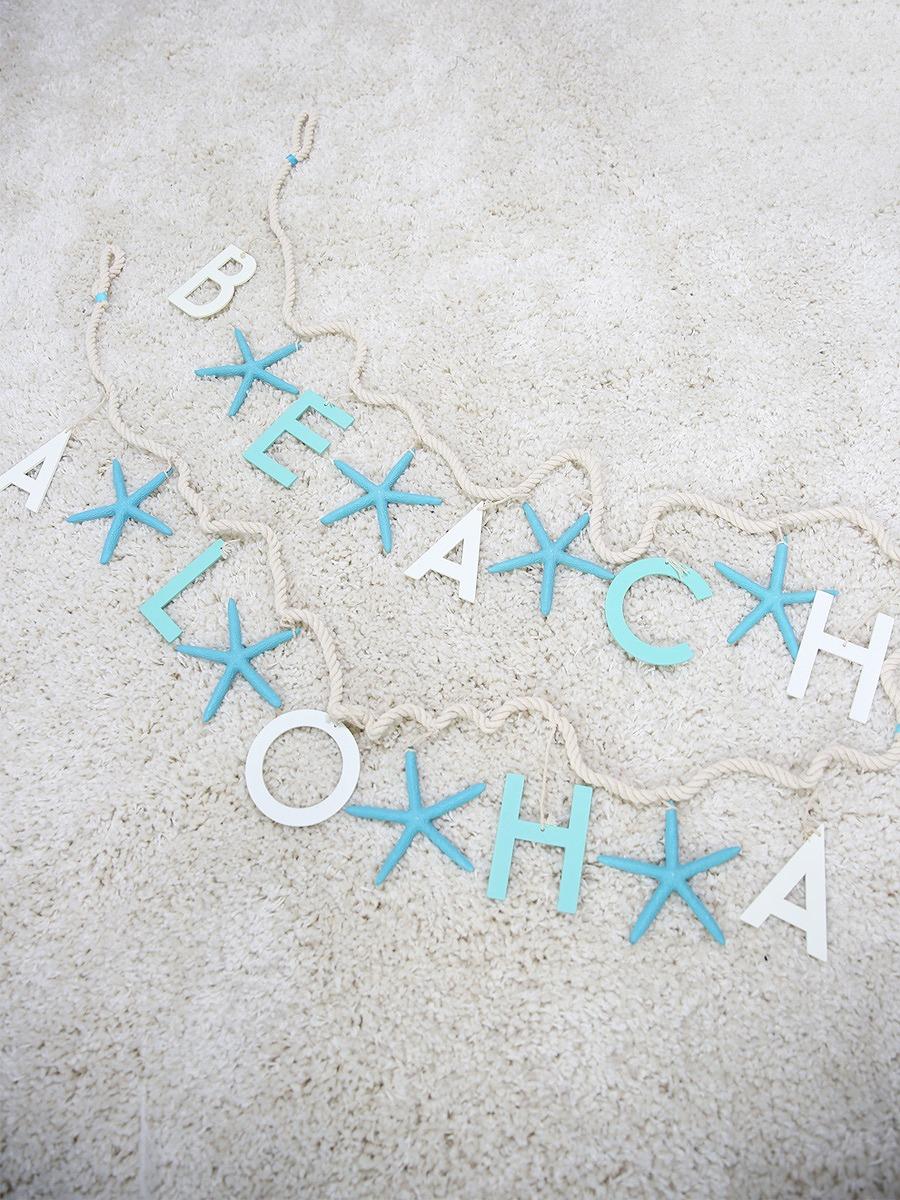 BEACH/ALOHAスターフィッシュガーランド