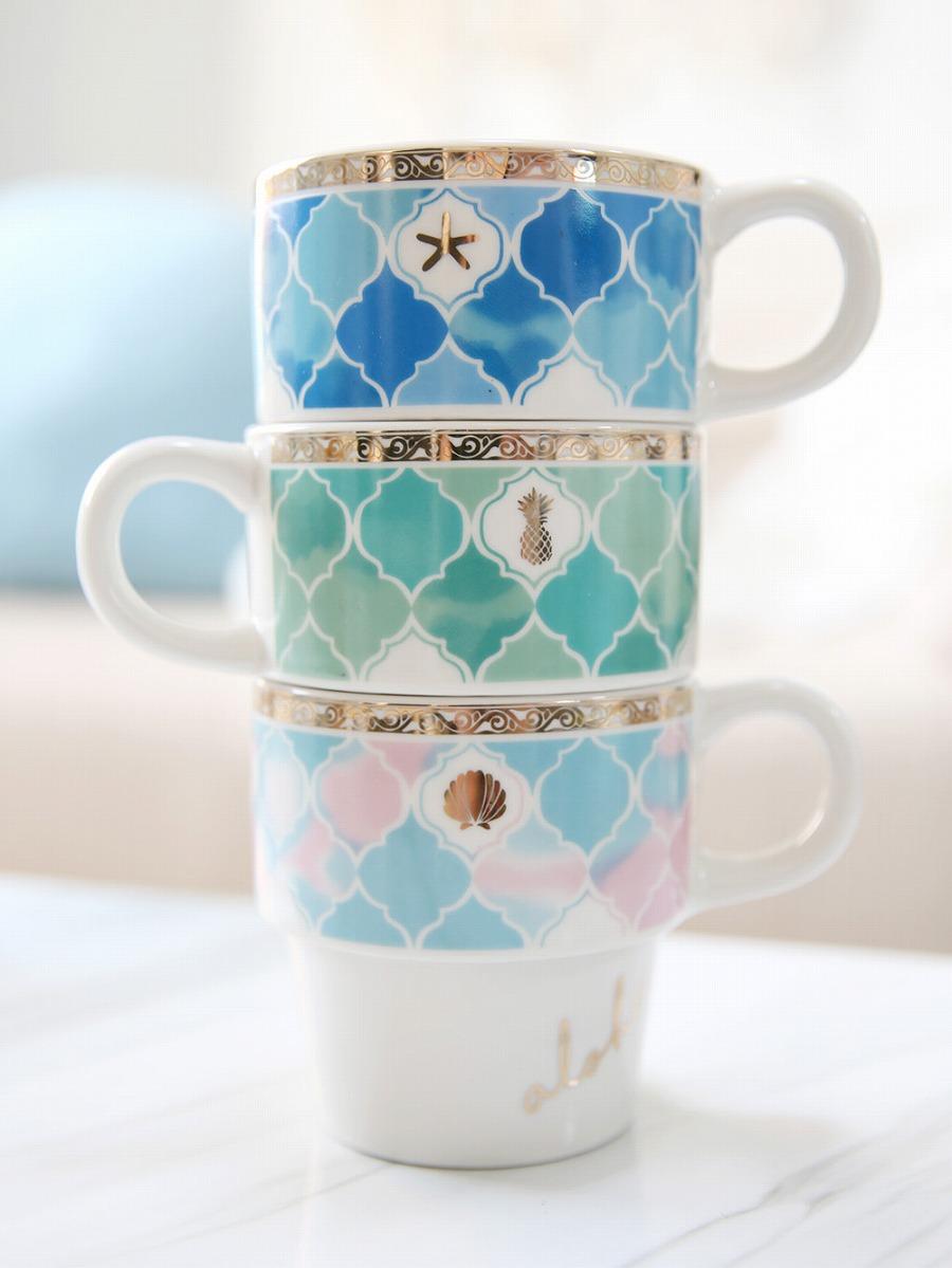 モロッカン柄マグカップ