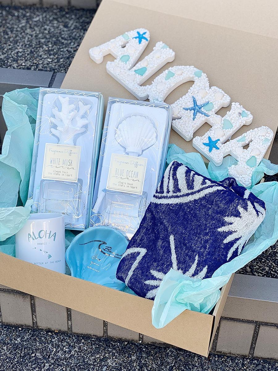 【ギフトボックス】Alohaコレクション(ボックスラッピングでお届け)