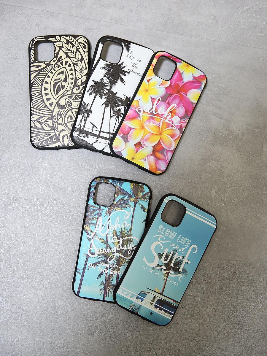 ハワイアンスマホケース(iPhone11対応)