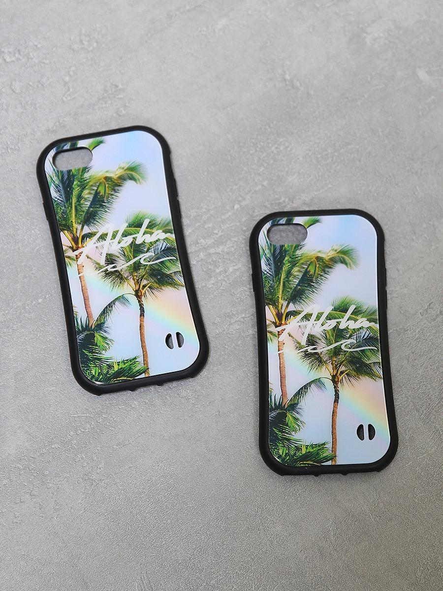 ハワイアンスマホケース(iPhone8/7/SE対応)