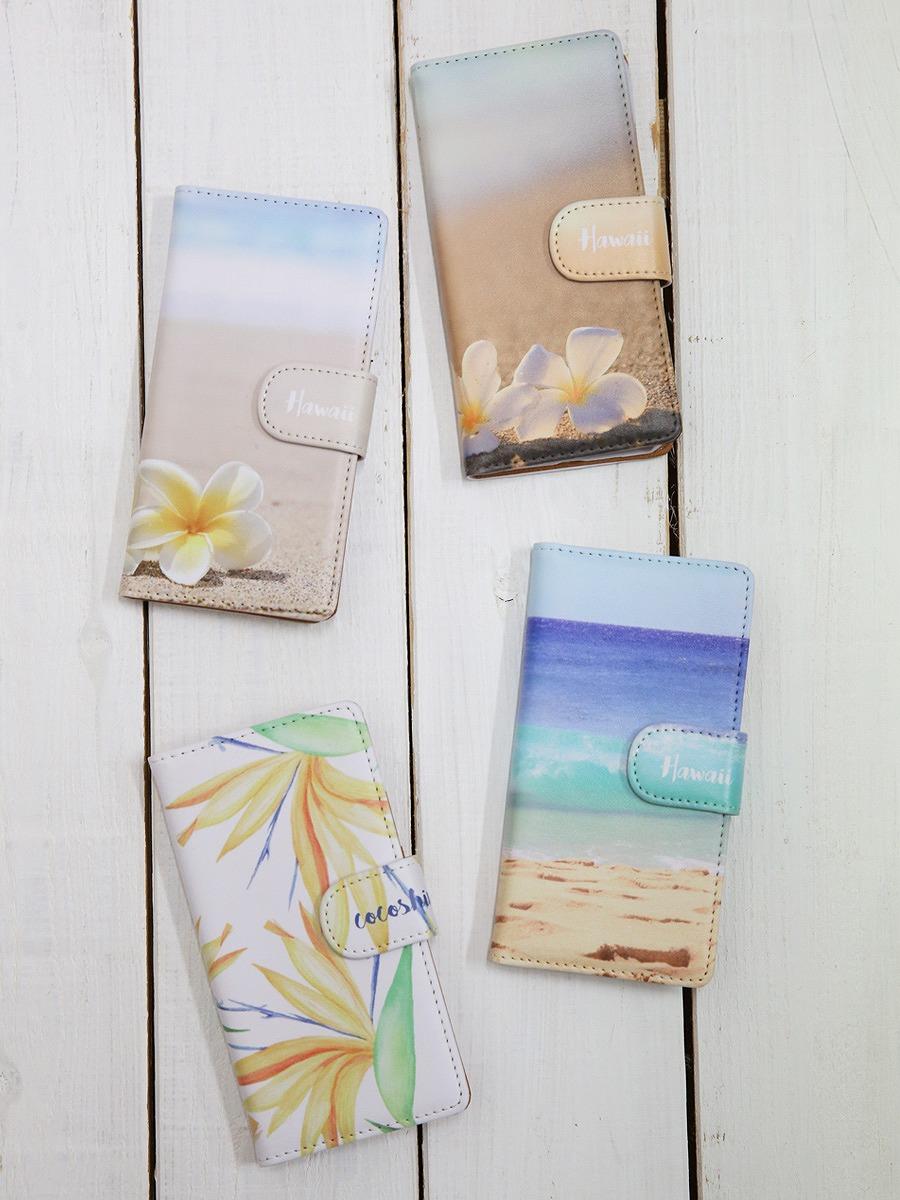 Sea Sand Sun AlohaのiPhone7/iPhone7s手帳型スマホケース