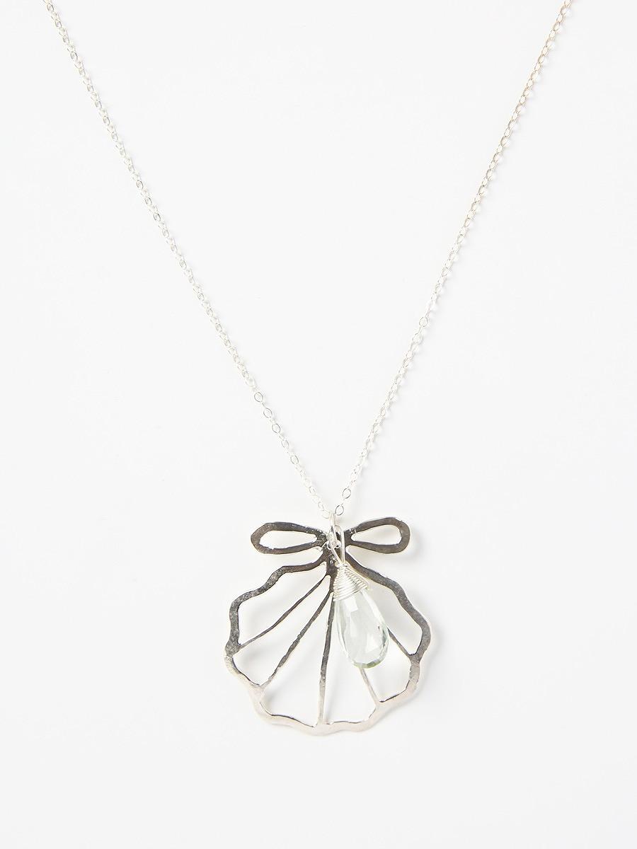 Kamera Jewelry(カメラジュエリー)Silver sirena shell necklace
