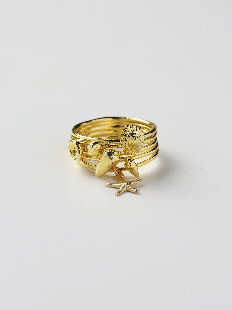 Kamera Jewelry(カメラジュエリー)MEHANA TINY SEASHELL OHANA RING
