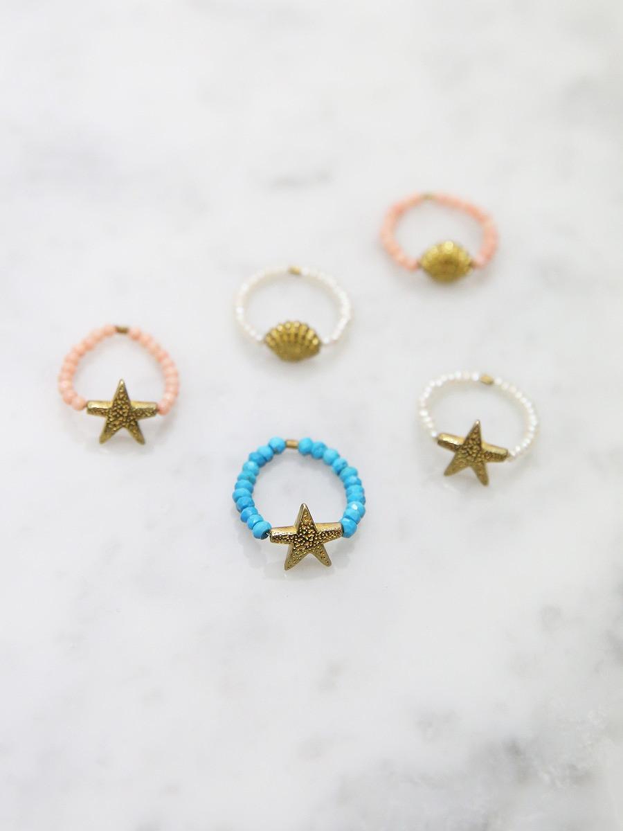 chibi jewels(チビジュエルズ)シーコレクションビーズリング