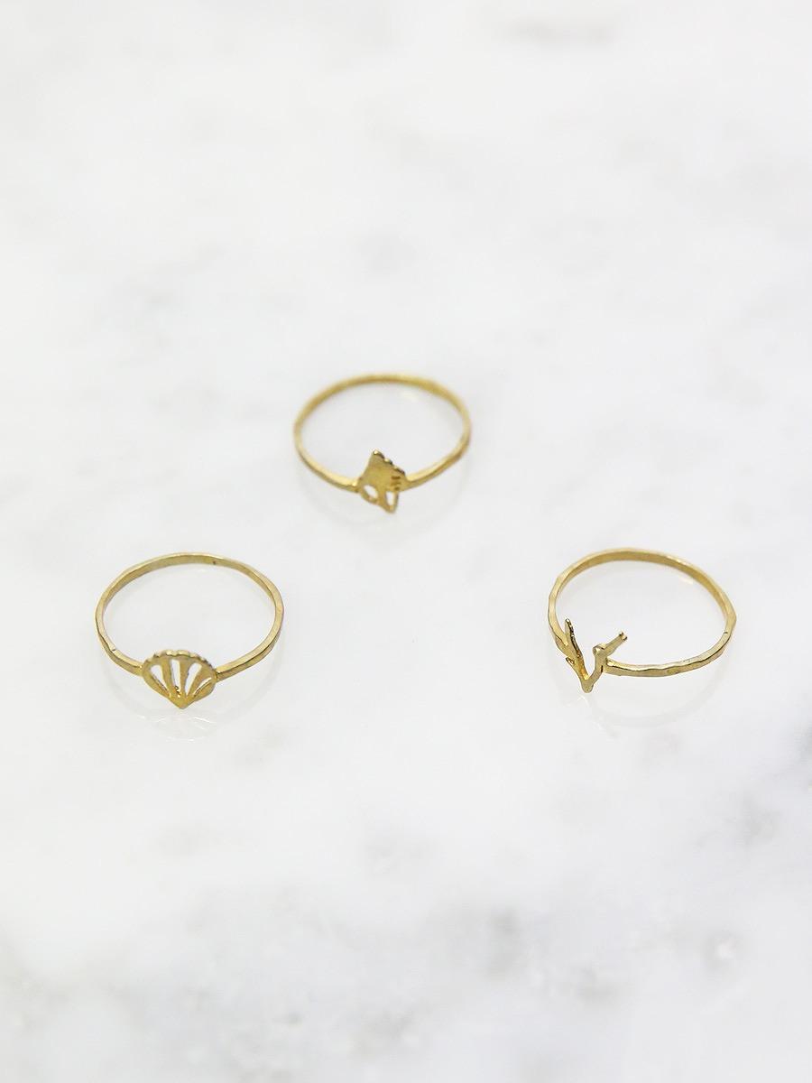 chibi jewels(チビジュエルズ)シーシェルコレクションリング