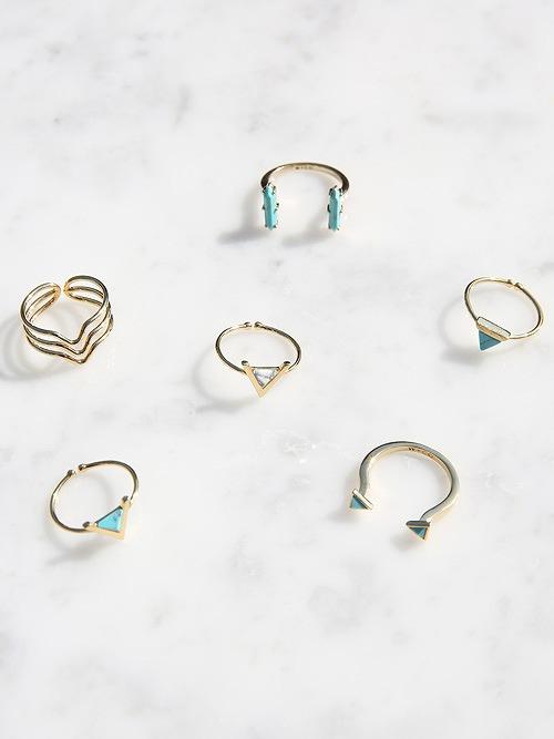 WANDERLUST+CO(ワンダーラスト+シーオー)Gold Ring