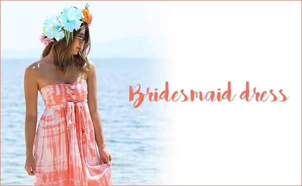 <span>ブライズメイドドレス</span>リゾートウェディングにかかせないブライズメイド♡
